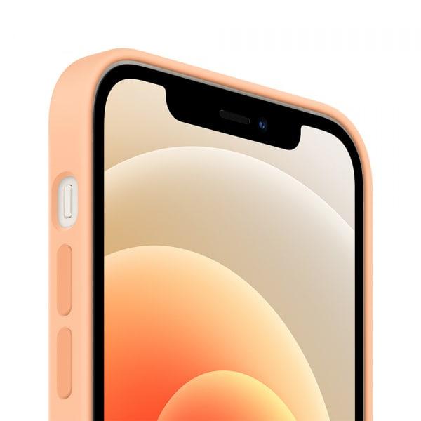 iPhone 12 mini Silicone Case with MagSafe - Cantaloupe 2