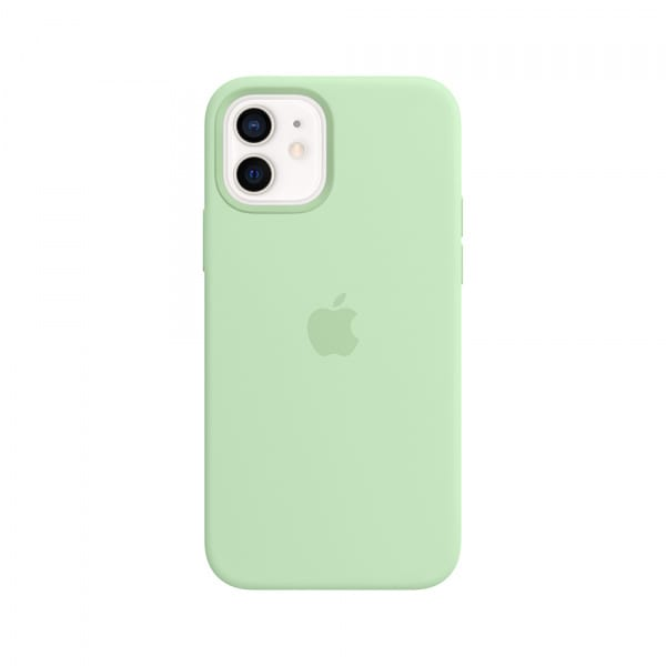 iPhone 12 | 12 Pro Silicone Case with MagSafe - Pistachio 0