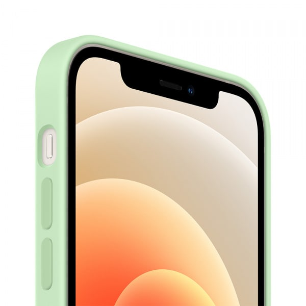 iPhone 12 | 12 Pro Silicone Case with MagSafe - Pistachio 2
