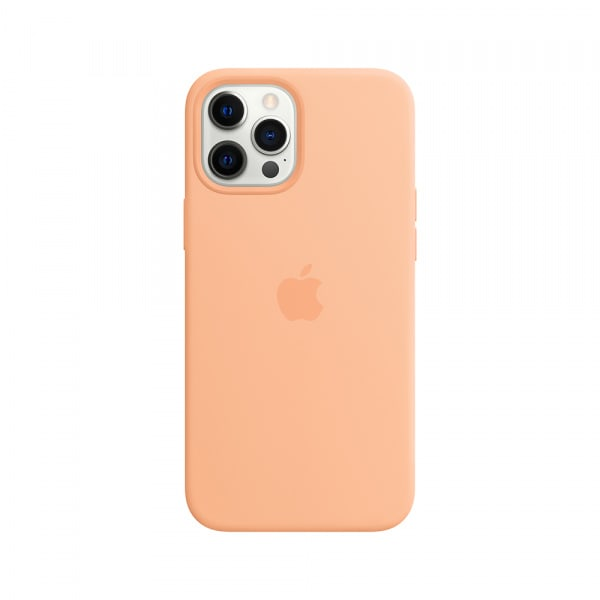 iPhone 12 Pro Max Silicone Case with MagSafe - Cantaloupe 0
