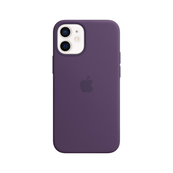 iPhone 12 mini Silicone Case with MagSafe - Amethyst 0