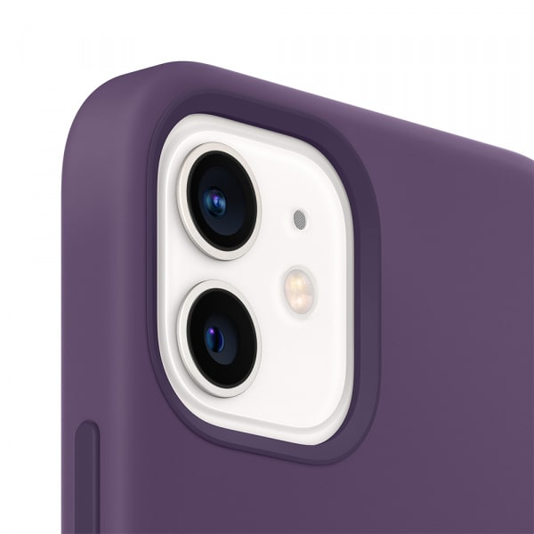 iPhone 12 mini Silicone Case with MagSafe - Amethyst 1