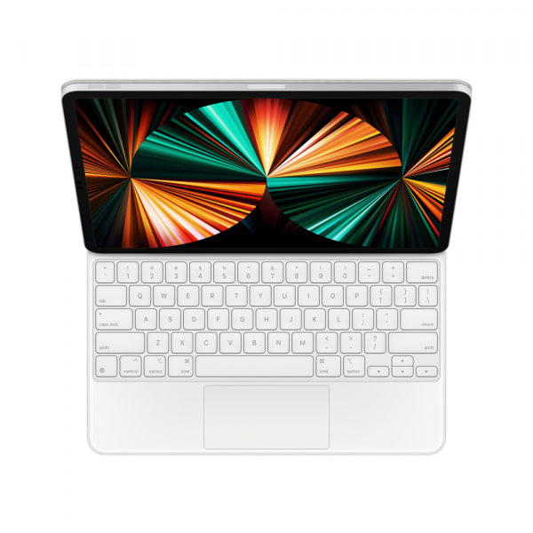 Magic Keyboard for iPad Pro 12.9_inch (5th Generation) - US English - White 0