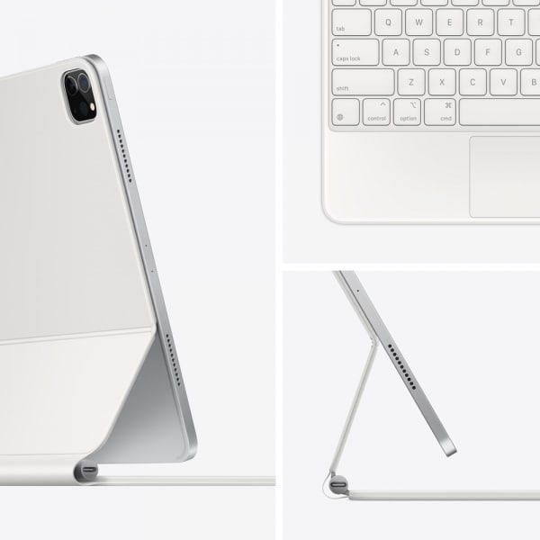 Magic Keyboard for iPad Pro 12.9_inch (5th Generation) - US English - White 1