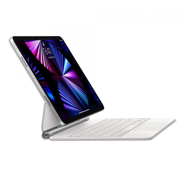 Magic Keyboard for iPad Pro 11-inch (3rd gen) and iPad Air (4th gen) - US English - White 4