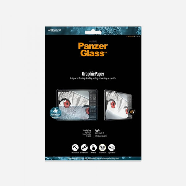 PANZERGLASS GraphicPaper for iPad Pro 12.9 3rd-5th Gen (2018-2021) - Clear 0
