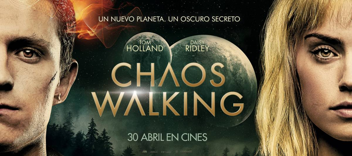 <p>CHAOS WALKING</p>
