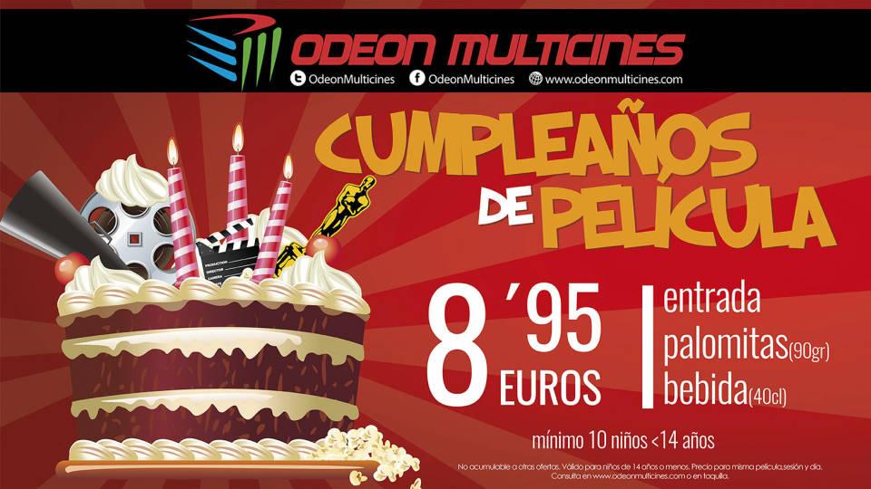 <p>Celebra tu cumpleaños de película</p>