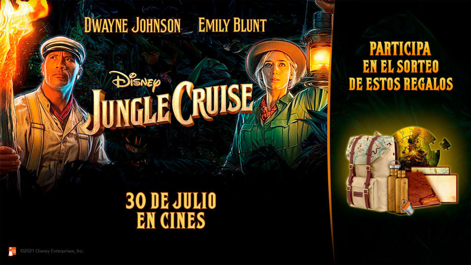 <p>Concurso Instagram – Jungle Cruise</p>