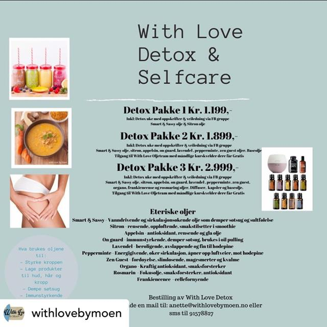 Artikkelbilde - With Love Detox