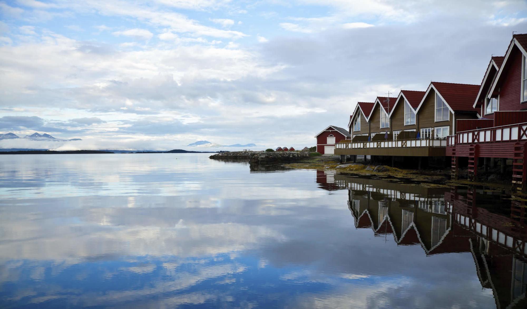 Du finner mange flinke hud og velvære salonger i Molde-området.