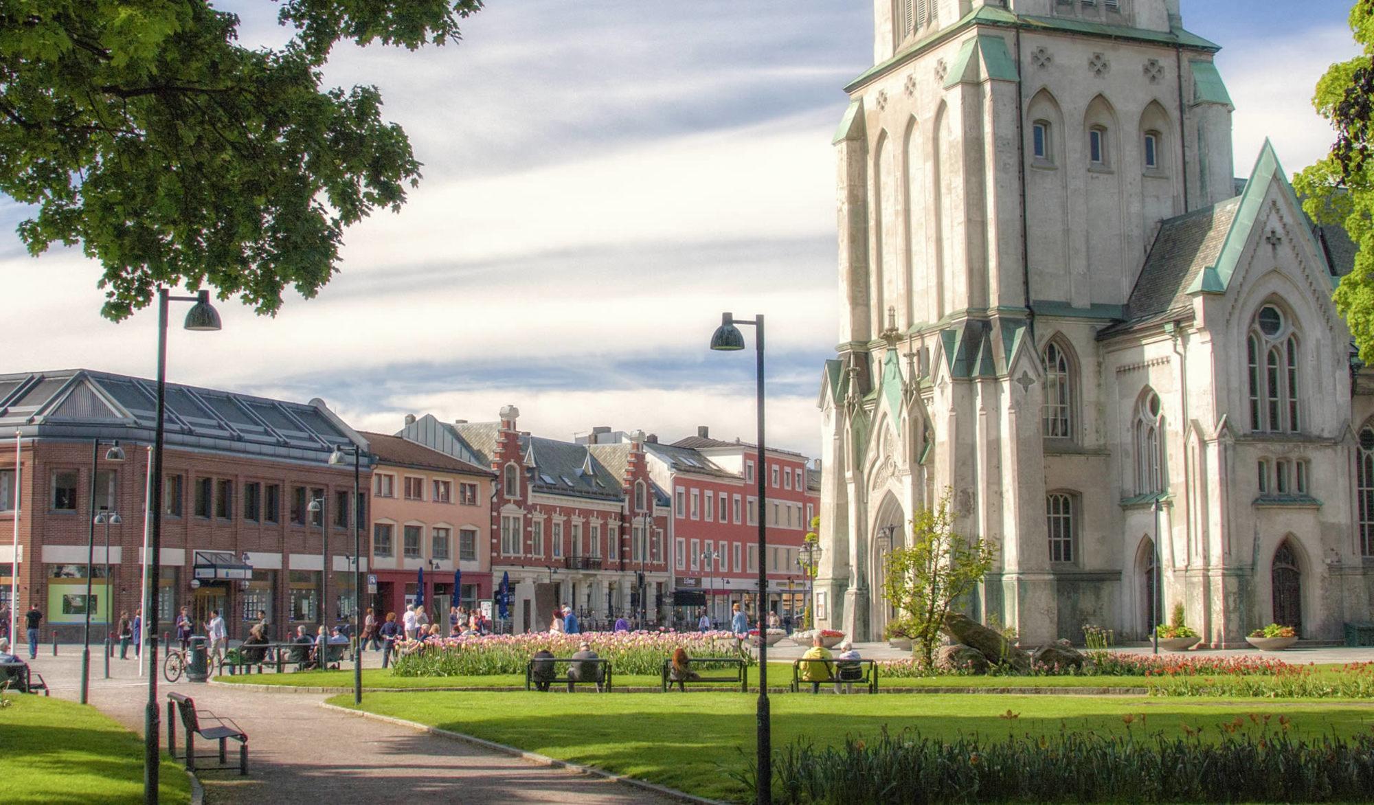 Du finner mange flinke hud og velvære salonger i Kristiansand-området.