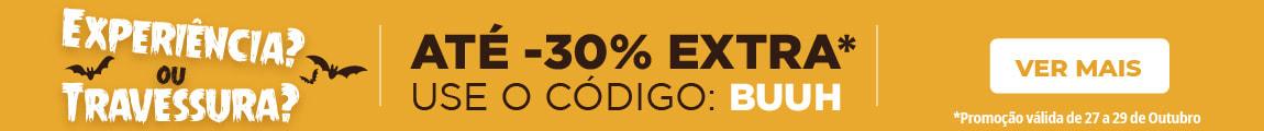 Até -30% Desconto Extra