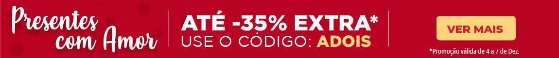 Até -35% Desconto Extra