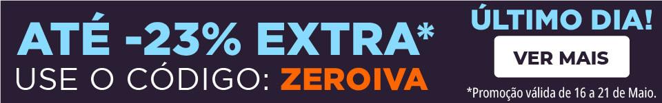 Férias Sem IVA!   até -23% Desconto Extra