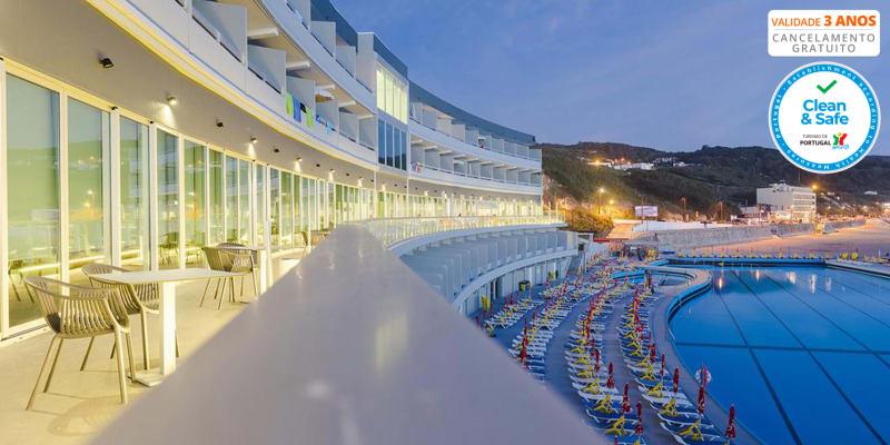 Arribas Sintra Hotel - Praia Grande | Estadia à Beira-Mar com Opção Jantar