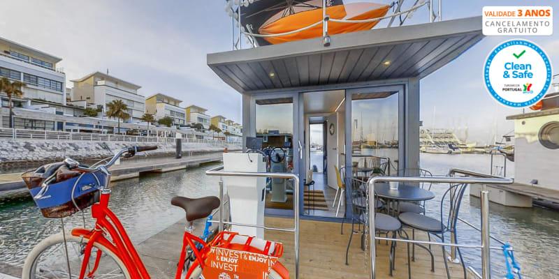 The Homeboat Company - Lisboa | Estadia Única em Barco Casa & Opção Jantar de Sushi e Pacote Romântico