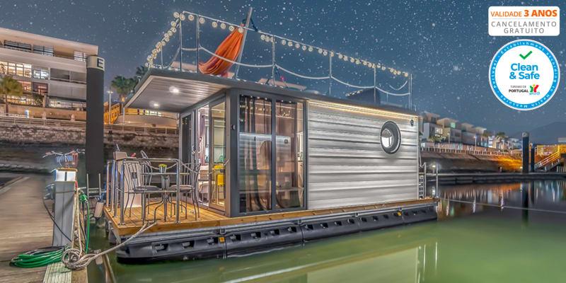 The Homeboat Company - Lisboa   Estadia em Barco Casa & Opção Jantar de Sushi
