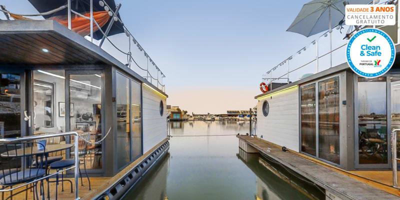 The Homeboat Company - Lisboa | Estadia em Barco Casa & Opção Jantar de Sushi