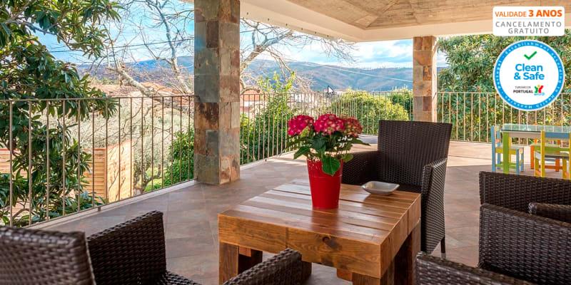 Casa de Santo Antão - Pampilhosa da Serra | Estadia com Opção Jantar