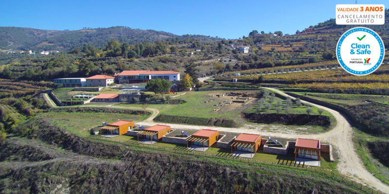Douro Cister Hotel Resort 4* - Douro | Estadia em Família em Bungalow