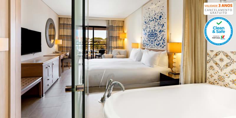 Hilton Vilamoura 5* - Algarve | Estadia em Família em Resort c/ Opção Meia-Pensão e Acesso ao Spa