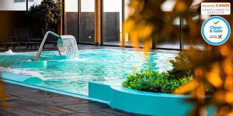 Hotel Cristal Vieira Praia & Spa 4* - Leiria | Estadia & Spa com Piscina Interior Dinâmica