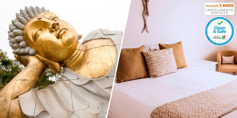 Hotel Neptuno - Peniche | Estadia com Opção Entradas Buddha Eden e Dino Parque