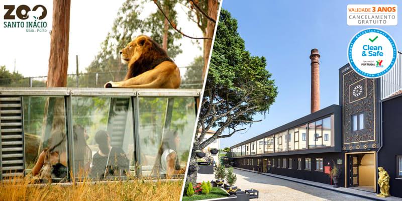 Rubens Hotels Royal Village 4* - Gaia | Estadia c/ Opção Jantar, Comboio Turístico e Zoo Santo Inácio
