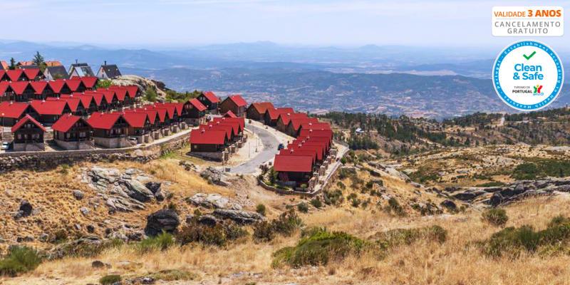 Luna Chalets da Montanha - Serra da Estrela | Estadia em Chalet para até 6 Pessoas