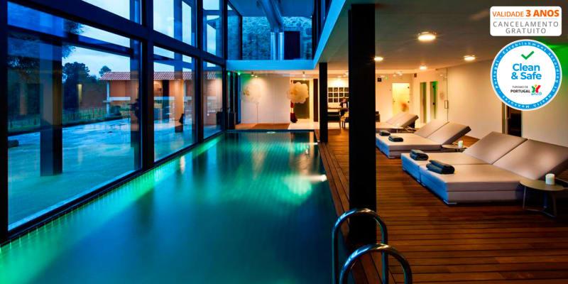 Torre de Gomariz Wine & Spa Hotel 5* - Braga | Estadia & Spa c/ Opção Meia-Pensão e Massagem