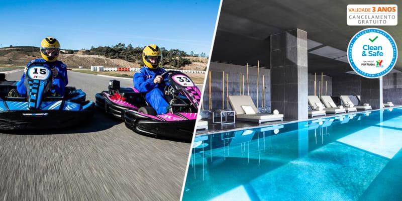 Algarve Race Hotel 5* - Portimão | Estadia & Spa com Opção Meia Pensão, Massagem ou Karts