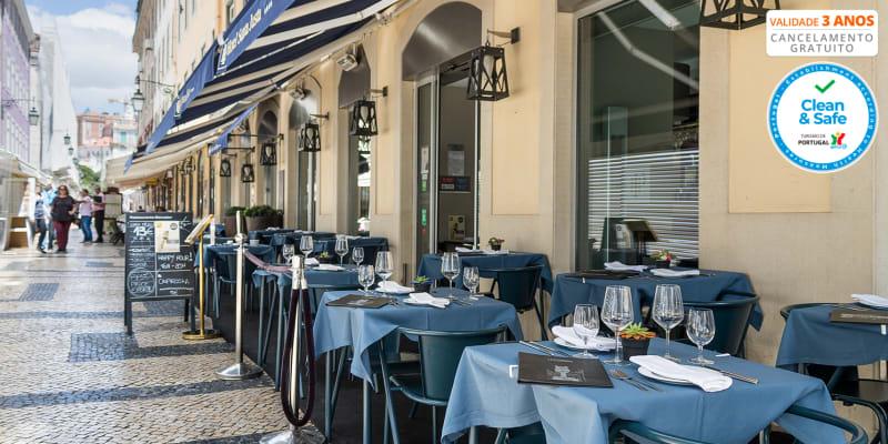 Elevador by Hotel Santa Justa: Cozinha de Autor para Dois - Baixa de Lisboa