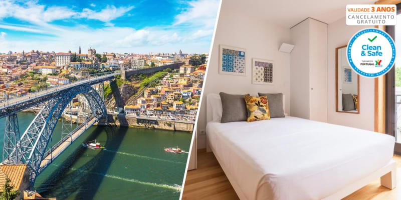 InSitu - Trindade - Porto | Estadia em Estúdio com Opção Cruzeiro das 6 Pontes e Prova de Vinhos