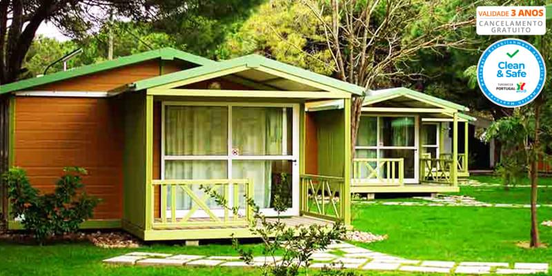 ORBITUR - Parque de Campismo Costa de Caparica   Estadia Junto ao Mar em Bungalow Para 5 Pessoas