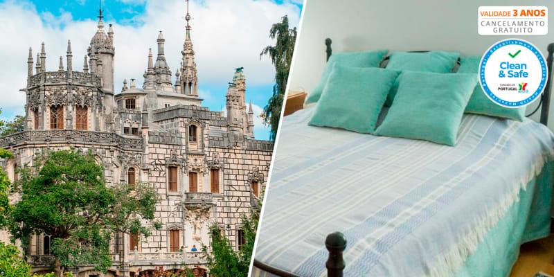 Serra e Mar - Sintra | Estadia Romântica c/ Opção Entradas na Quinta da Regaleira e Palácio da Pena