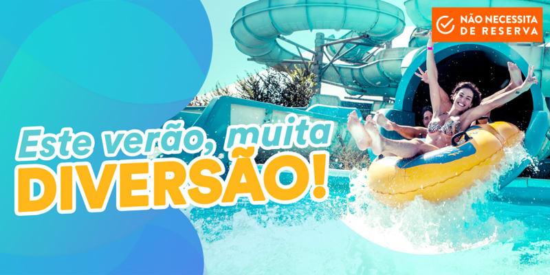 Verão é no Aquabadajoz! Diversão ao Máximo para toda a Família!