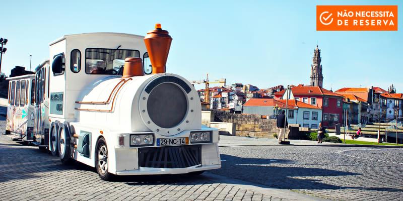 Magic Train | Passeio Família no Porto + Visita às Caves de Gaia + Prova Vinhos | 2 Horas