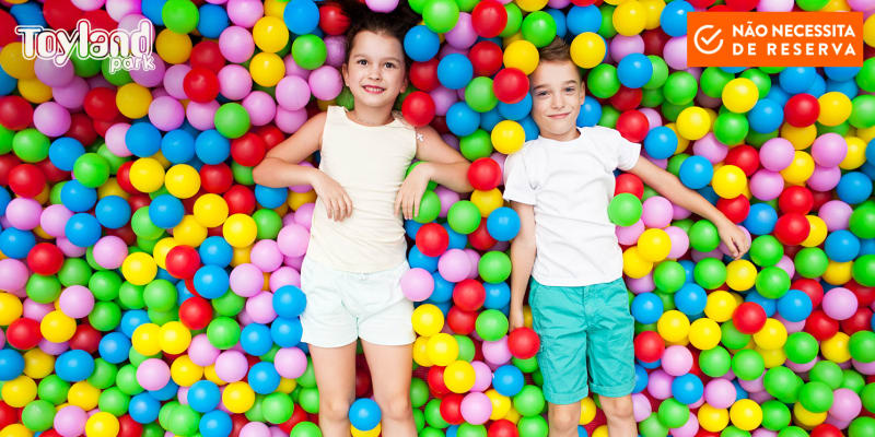 Bem-vindos ao Toyland Park! Parque de Diversões Infantis - Almada   2 Horas