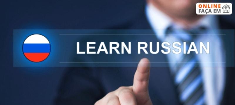 Curso Online de Russo c/ Certificado Final   2 Meses