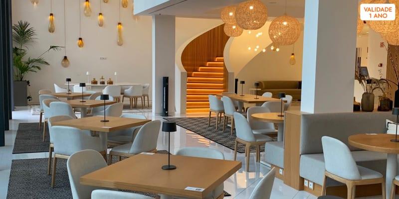 Cozinha Portuguesa c/ Influências do Mundo para Dois | Restaurante InPar - Aroeira Lisbon Hotel
