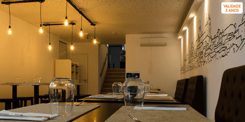 Sabores de Fusão e Bom Vinho para Dois | ÉvoraTaste Tapas & Wine House