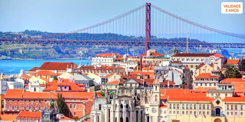 Tour por Lisboa para Dois em Carrinha Premium + Oferta de Pastéis de Belém   4 Horas