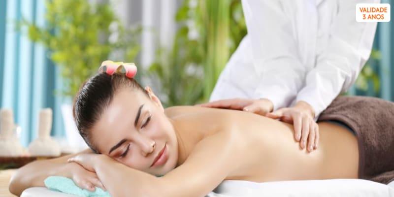 3 Passos de Relaxamento: Massagem + Limpeza de Pele ou Reiki + Chá   50 Min.   Matosinhos