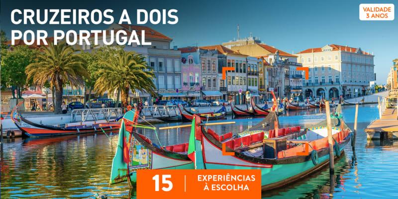 Cruzeiros a Dois por Portugal | 15 Experiências à Escolha