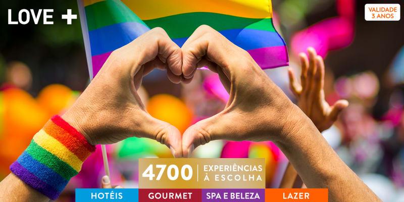 LOVE +   4700 Experiências