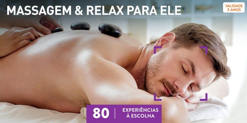 Massagem & Relax para Ele | 80 Experiências à Escolha