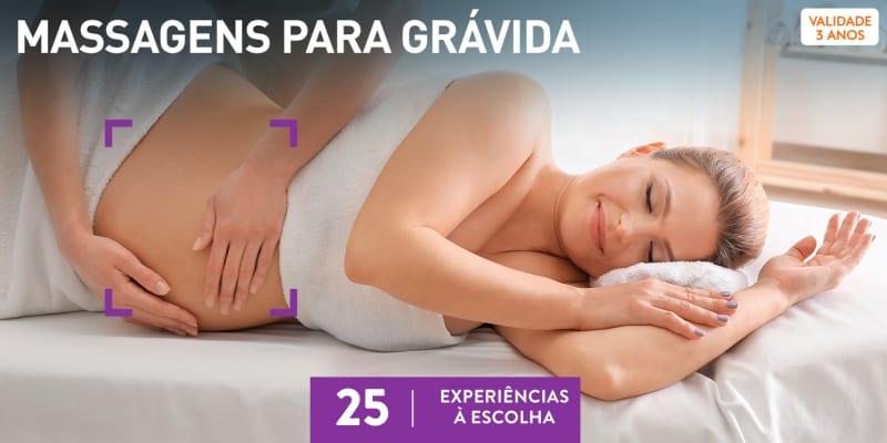 Massagens para Grávida | 30 Experiências à Escolha