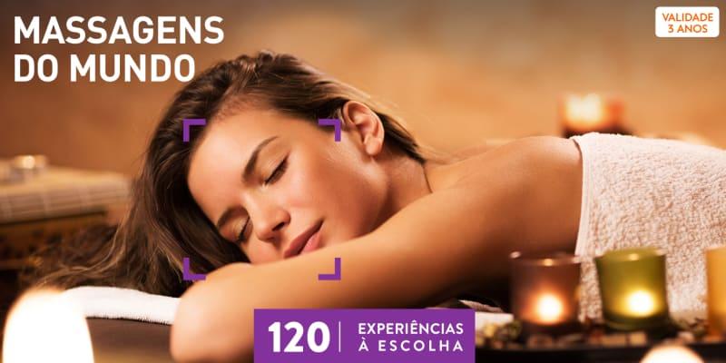 Massagens do Mundo | 120 Experiências à Escolha