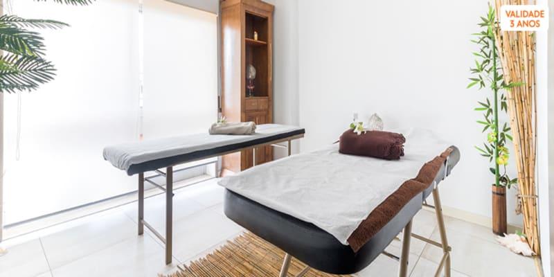 Presente Especial Amor! Massagem Corpo Inteiro c/ Chá e Biscoitos - 1h | Porto